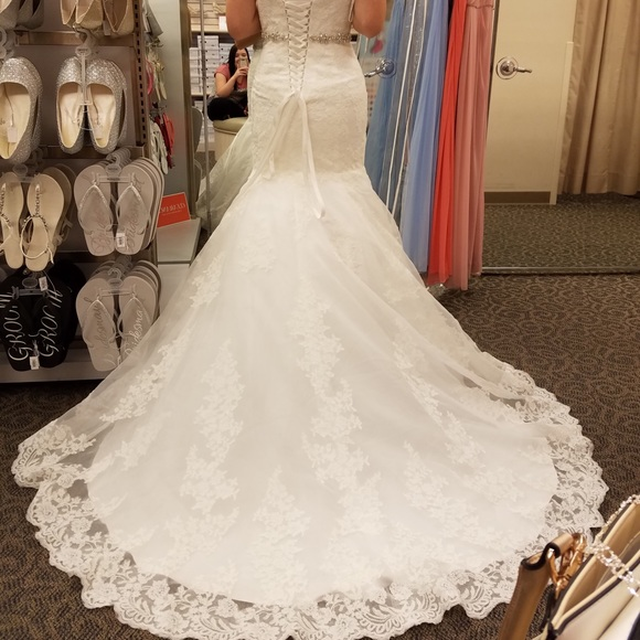 David's Bridal Dresses & Skirts - David's Bridal Wedding Dress